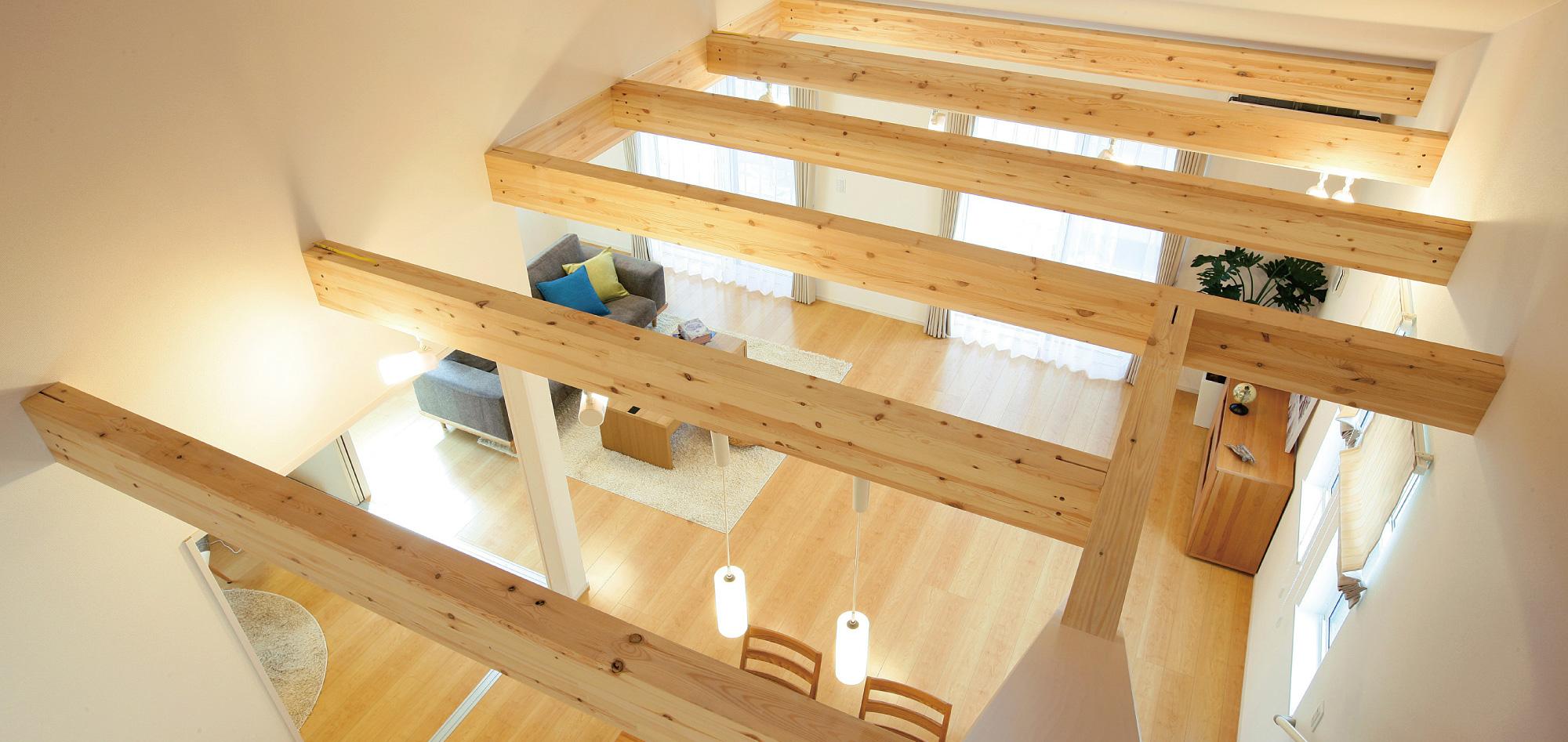 2階のある平屋建て【メザニン2.0(建築基準法2階建てタイプ)】